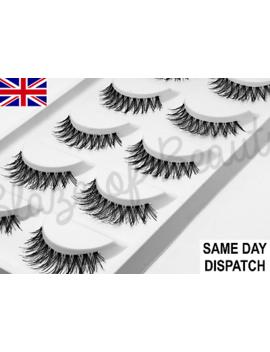 <Span><Span>5 Pairs Demi Wispies Natural Short False Eyelashes Fake Eye Lashes Make Up</Span></Span> by Ebay Seller