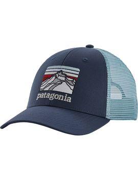 Line Logo Ridge Lo Pro Trucker Hat by Patagonia