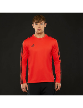 Adidas Tango Terry Ls Jersey   Hi Res Red by Pro Direct Soccer