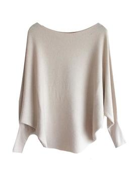 'michelle' Boat Neck Batwing Dolman Sleeves Sweater (9 Colors) by Goodnight Macaroon