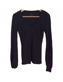 Black Cotton Top by Dries Van Noten