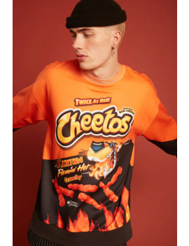 Xxtra Flamin Hot Cheetos Sweatshirt by Forever 21