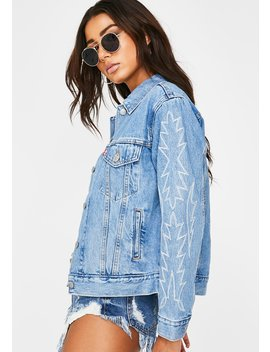 Del Norte Ex Boyfriend Trucker Jacket by Levis
