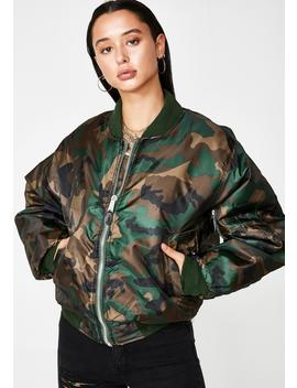Camo Ma 1 Flight Jacket by Rothco