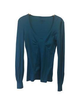 Turquoise Cotton Top by Dries Van Noten