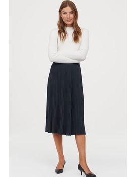 Glittery Fine Knit Skirt by H&M