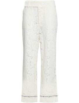Jerome Corded Lace Wide Leg Pants by Ganni