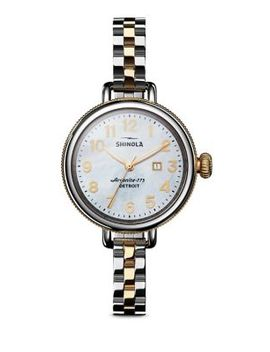 Birdy Stainless Steel Watch by Shinola