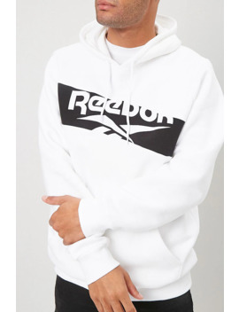 Reebok Graphic Fleece Hoodie by Forever 21