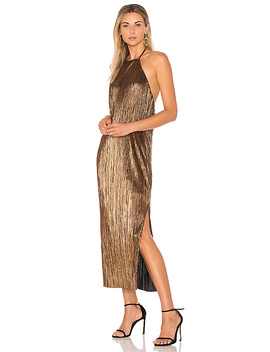 X Revolve Frederick Dress In Bronze by House Of Harlow 1960