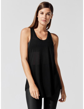 Racerback Tissue Tank by Carbon38