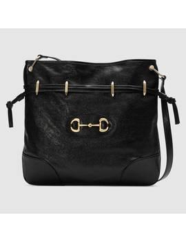 Gucci 1955 Horsebit Messenger Bag by Gucci
