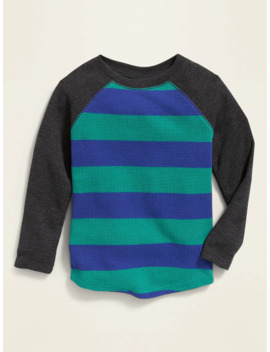 Thermal Knit Long Sleeve Tee For Toddler Boys by Old Navy
