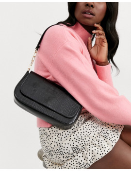 Pimkie Shoulder Bag In Black by Pimkie