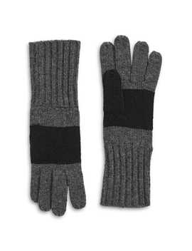 Silverlake Wool Blend Gloves by Hbc Stripes