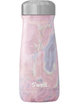 Stainless Steel Geode Rose Traveler by S'well