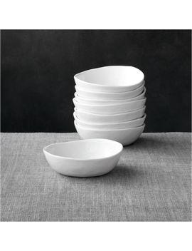"Set Of 8 Mercer 5"" Mini Bowls by Crate&Barrel"