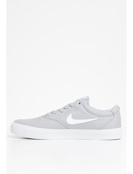 Sb Charge Canvas   Wolf Grey / White by Nike