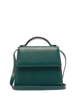 Top Handle Small Leather Bag by Hunting Season