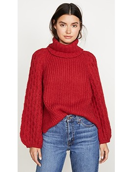 Nina Alpaca Sweater by Eleven Six