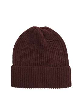 Nita Ribbed Beanie by Vero Moda