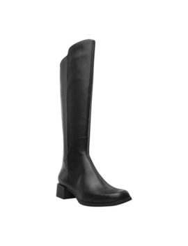 Camper Women's Kobo Knee High Boot Black Leather by Camper