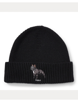 French Bulldog Hat by Ralph Lauren