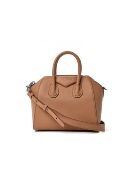 Givenchy Antigona Tote Sugar Goatskin Mini Tan by Stock X