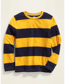 Softest Bold Stripe Long Sleeve Tee For Boys by Old Navy