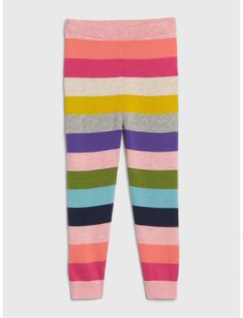 Toddler Crazy Stripe Sweater Leggings by Gap
