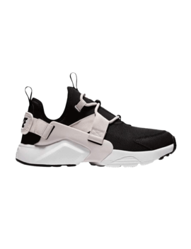 Wmns Air Huarache City Low 'black Barely Rose' by Brand Nike