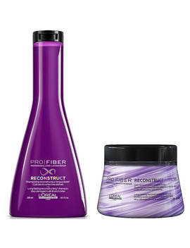 L'oréal Professionnel Pro Fiber Reconstruct Very Damaged Hair Shampoo And Treatment Duo by L Oréal Professionnel
