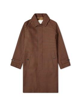 Mackintosh Blackridge Check Overcoat by Mackintosh