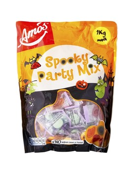 Amo's Halloween Natural Gummy Spooky Party Mix   1kg by Big W