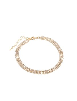 Desiree Anklet   Gold by Miss Lola