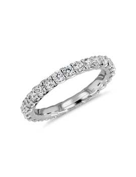 Tessere Weave Diamond Eternity Ring In 18k White Gold (.95 Ct. Tw.) by Blue Nile