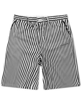Mki Stripe Shorts by Mki