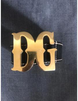 Dolce & Gabbana Gold Buckle Belt by Dolce & Gabbana  ×