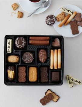 Belgian Collection Biscuit Tin (1kg) by Marks & Spencer