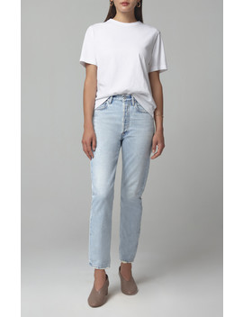 Charlotte High Rise Straight Jean In La Luna by Citizens Of Humanity