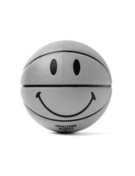 Chinatown Market 3 M Smiley Basketball Grey by Stock X