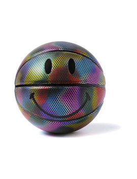 Chinatown Market Iridescent Smiley Basketball Multi by Stock X