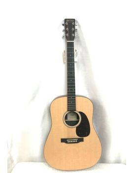 Martin Dxmae X Series Acoustic Electric Guitar Natural & Martin Hsc by Martin