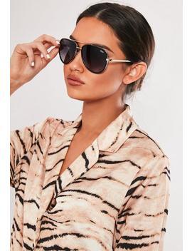 Quay Australia X Jlo All In Black Sunglasses by Missguided