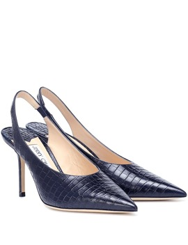 Ivy 85 Slingback Leather Pumps by Jimmy Choo