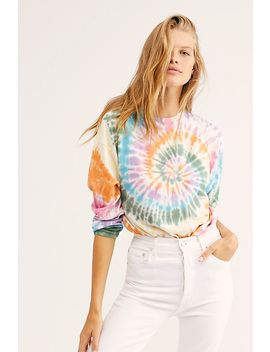 Long Sleeve Tie Dye Bodysuit by Daydreamer X Free People