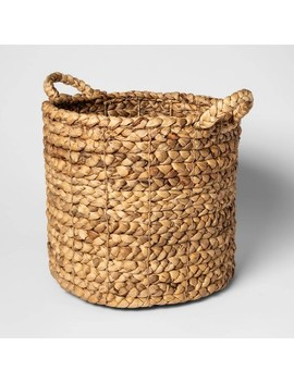 "Decorative Basket Natural 13""X14""   Threshold™ by Threshold"