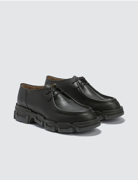 Derby Shoes In Vegetal Calfskin by              Lanvin