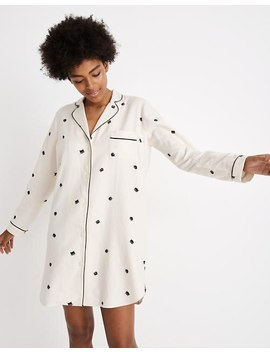 Bedtime Nightshirt In Cat Person by Madewell