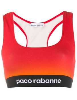 Top Colour Block Crop by Paco Rabanne